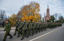 Tarnybą kariuomenėje pradeda dar 500 šauktinių