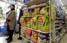 Japonija vis dar kenčia traškučių krizę