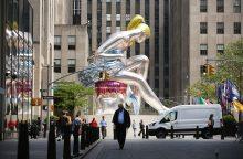 Amerikiečių menininkui – kaltinimai ukrainiečių skulptūros kopijavimu