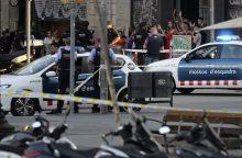 Informacijos apie nukentėjusius lietuvius Barselonoje nėra