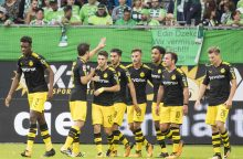 "Bundeslyga: ""Borussia"" sutriuškino ""Wolfsburg"""