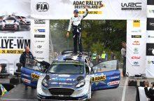 10-ąjį pasaulio autoralio čempionato etapą laimėjo estų ekipažas