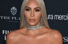 K. Kardashian West ir jos vyras Kanye džiaugiasi naujagime dukrele