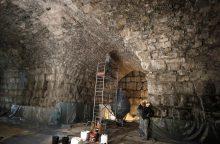 Po Jeruzalės Raudų siena rastas romėnų laikų teatras