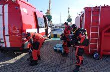 Klaipėdos uoste – išskirtinės pratybos