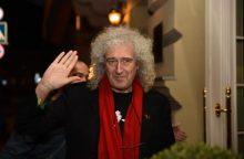 """Grupės """"Queen"""" muzikantai jau Lietuvoje"""
