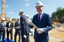 Vilniuje po 30 metų pradedamas statyti naujas baseinas