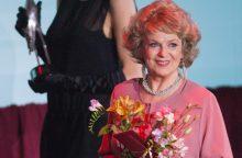 Aktorė G. Balandytė ir rašytojas K. Saja sulaukė prezidentės sveikinimų