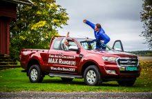 """Norvegai su """"Ford Ranger"""" pasiekė naują pasaulio rekordą"""