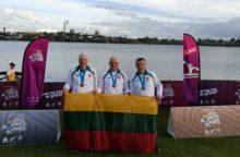 Baidarininkas A. Ambotas Naujojoje Zelandijoje iškovojo net šešis aukso medalius