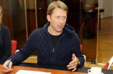 E. Dragūnas paprašė atidėti jo bylą dėl chuliganizmo