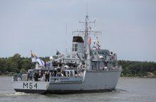 """Karo laivas """"Kuršis"""" atitinka NATO reikalavimus dalyvauti operacijose"""