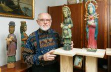 Drožėjas G. Dudaitis: sovietmečiu tautodailė išgyveno renesansą