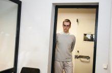 Dviejų kaimynių nužudymu kaltinamas kaunietis nuosprendžio neišgirdo