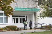 Pamelavusį apie sprogmenį mokykloje paauglį sulaikė po dienos