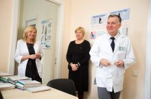 Poliklinikoje – sudėtingi tyrimai ir net operacijos