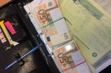 Ukrainietis į Lietuvą bandė įsivežti nedeklaruotų grynųjų pinigų