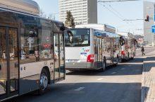 Tarp sostinės valdžios gilėja konfliktas dėl viešojo transporto