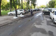 Daugiabučio gyventojai patys užlopė gatvės duobes