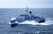 """Lietuvos karo laivas """"Kuršis"""" galės dalyvauti NATO operacijose"""