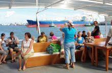 Jubiliejinis pažintinių ekskursijų sezonas uoste