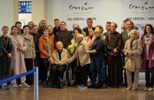 Į Lietuvą grįžo išeivijos lietuvių vyskupas emeritas P. Baltakis