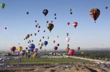 Dujinių balionų pasaulio čempionato dalyviai: keliaujame ten, kur nuneša vėjas