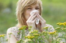 Nustatyti alergijos priežastį galima specialiu aparatu