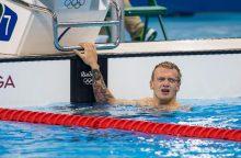 Plaukikas G. Titetnis varžybose Prancūzijoje užėmė ketvirtąją vietą