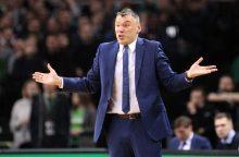 """Š. Jasikevičius po rungtynių gyrė """"Žalgirio"""" legionierius"""